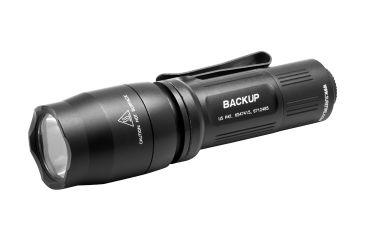 Surefire E1B Backup 200 Lumens White LED Flashlight w/ Tactical Switch, Black EB1T-A-BK