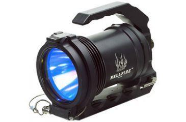 SureFire HellFighter Heavy Gun Spotlight ( HellFire HF M2 HB-240B ) w/ IR Filter, Amber Filter and Opaque Filter