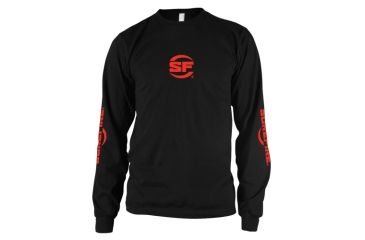 Surefire Long Sleeve Shirt, Black, Surefire, Extra Large