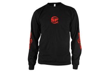 Surefire Long Sleeve Shirt, Black, Surefire, Medium