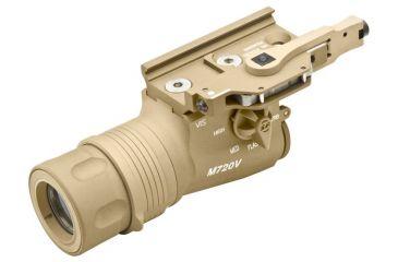 Surefire M720V Tan Weapon Flashlight