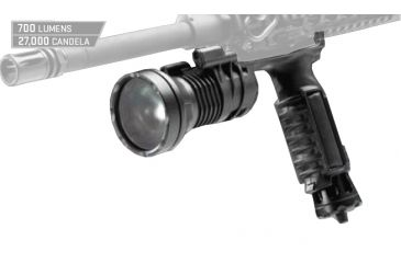 Surefire M900LT 700 Lumens White LED Weapon Light Black M900LT-BK-WH
