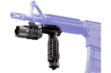 M900V White/IR LED Vertical Foregrip WeaponLight Mounted to Picatinny Rail