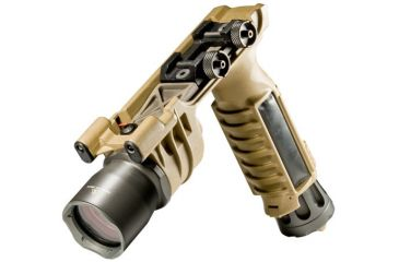 Surefire M910A Vertical Foregrip Weaponlight with Picatinny Rail - Tan