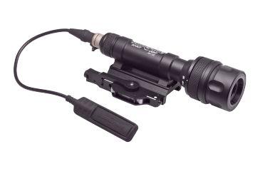 SureFire Scoutlight Weapon Light, Wh/Ir, 150 Lumens/120Mw, Black M600V-A-BK