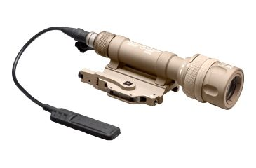 SureFire Scoutlight Weapon Light, Wh/Ir, 150 Lumens/120Mw, Tan M600V-A-TN