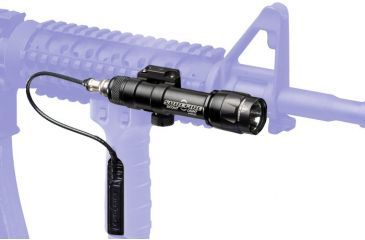 Surefire Weaponlight M600 - shown mounted