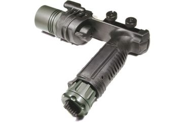 SureFire M900A Picatinny Rail Vertical Foregrip Weaponlight - A.R.M.S. Throw-Lever Mount