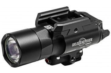 SureFire X400 Ultra Flashlight, 500 Lumens, Red Laser, Black X400U-A-RD