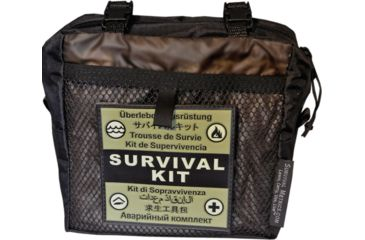 Survival Metrics Pro Survival Kit Pouch, Black METPSKPT
