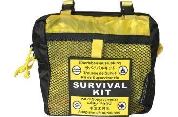 Survival Metrics Pro Survival Kit Pouch, Yellow METPSKPY