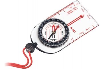 Suunto A-10 Compass w/ High Accuracy & Scratch Resistance