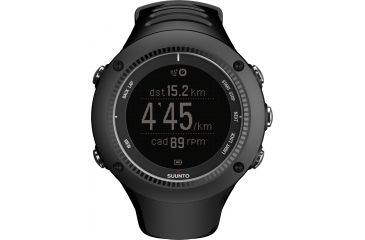 Suunto AMBIT2 R HR Watch with Heart Rate Comfort Belt, Black, One Size SS020655000