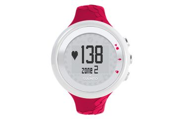 Suunto M2 Heart Rate and Calorie Monitor Watch - Womens Fuchsia - Box package SS015855000