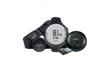 Suunto M5 GPS Pack - Black/Silver SS016822000