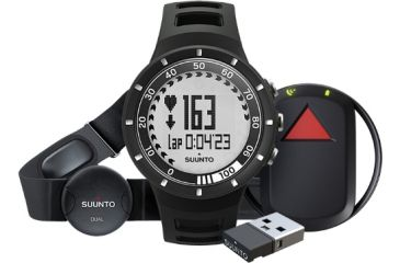 Suunto Quest Black GPS Pack, Black SS018715000