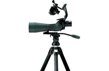 Swarovski Digital Camera Basis mounted on Swarovski spotting scope