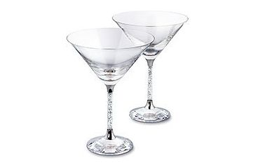 Swarovski Crystalline Cocktail Glasses (set of 2)