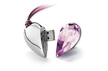 91aada27608d Swarovski Heart Ware Vitrail Light USB Memory Key 959368