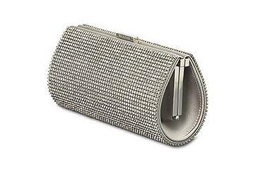 Swarovski Power Silver Shade Evening Bag