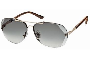 Swarovski Atomic Sunglasses SK0006 - Shiny Rose Gold Frame Color, Gradient Green Lens Color