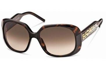 d4fd6d2d90b Swarovski Ava Sunglasses SK0008 - Dark Havana Frame Color