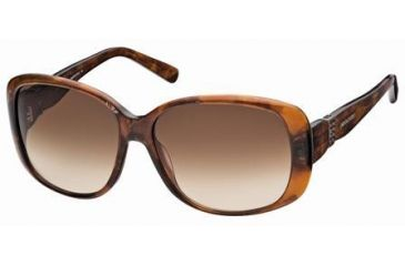 Swarovski April Sunglasses SK0012 - Dark Havana Frame Color