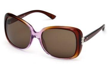 Swarovski SK0027 Sunglasses - Dark Brown Frame Color