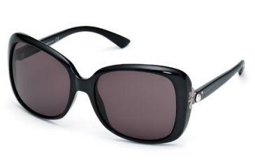Swarovski SK0027 Sunglasses - Shiny Black Frame Color