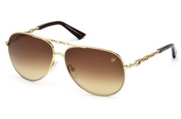 Swarovski SK0032 Sunglasses - Shiny Rose Gold Frame Color