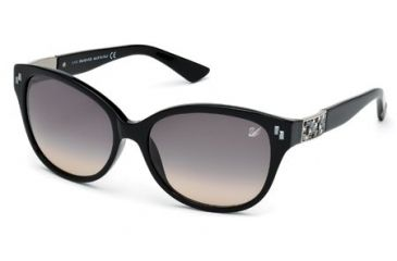 Swarovski SK0036 Sunglasses - Shiny Black Frame Color