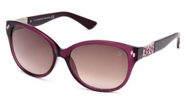 Swarovski SK0036 Sunglasses - Violet Frame Color