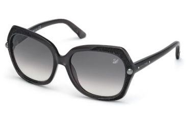 Swarovski SK0062 Sunglasses - Grey Frame Color, Gradient Smoke Lens Color
