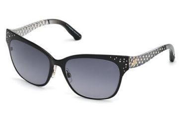 90f9810bbe5 Swarovski SK0069 Sunglasses - Shiny Black Frame Color