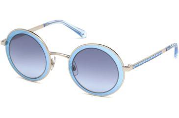 b617f8896d0 Swarovski SK0199 Sunglasses - Shiny Palladium Frame Color