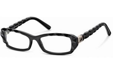 Swarovski SK5007 Eyeglass Frames - Shiny Black Frame Color