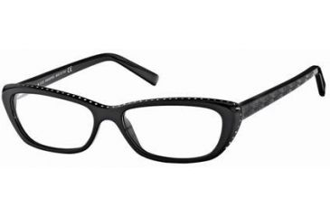 Swarovski SK5013 Eyeglass Frames - Shiny Black Frame Color