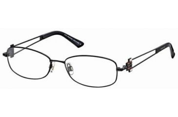 Swarovski SK5019 Eyeglass Frames - Shiny Black Frame Color