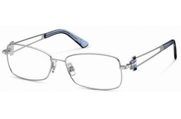 Swarovski SK5020 Eyeglass Frames - Shiny Palladium Frame Color