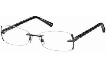 Swarovski SK5024 Eyeglass Frames - Shiny Dark Ruthenium Frame Color