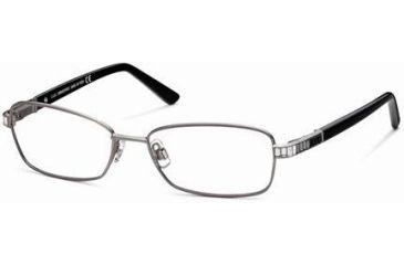 Swarovski SK5027 Eyeglass Frames - Shiny Dark Ruthenium Frame Color