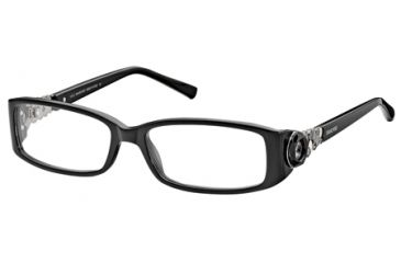 Swarovski SK5029 Eyeglass Frames - Shiny Black Frame Color
