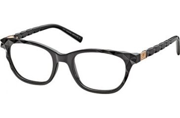 Swarovski SK5039 Eyeglass Frames - Shiny Black Frame Color