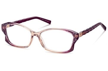 Swarovski SK5041 Eyeglass Frames - Orange Frame Color
