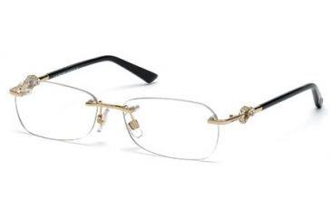 Swarovski SK5053 Eyeglass Frames - Gold Frame Color