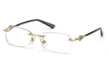 Swarovski SK5053 Eyeglass Frames - Shiny Rose Gold Frame Color