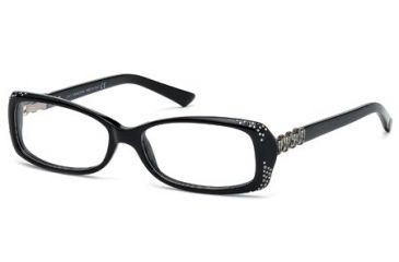 Swarovski SK5055 Eyeglass Frames - Shiny Black Frame Color