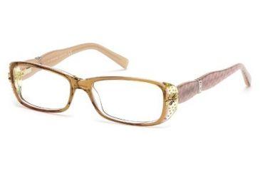 Swarovski SK5057 Eyeglass Frames - Light Brown Frame Color