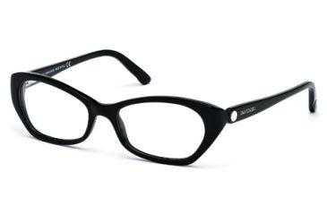 Swarovski SK5067 Eyeglass Frames - Shiny Black Frame Color