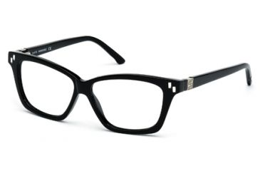 Swarovski SK5070 Eyeglass Frames - Shiny Black Frame Color